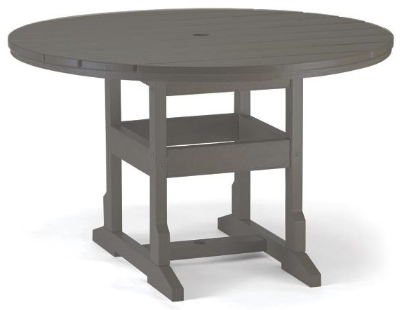 Round Table with Umbrella Hole