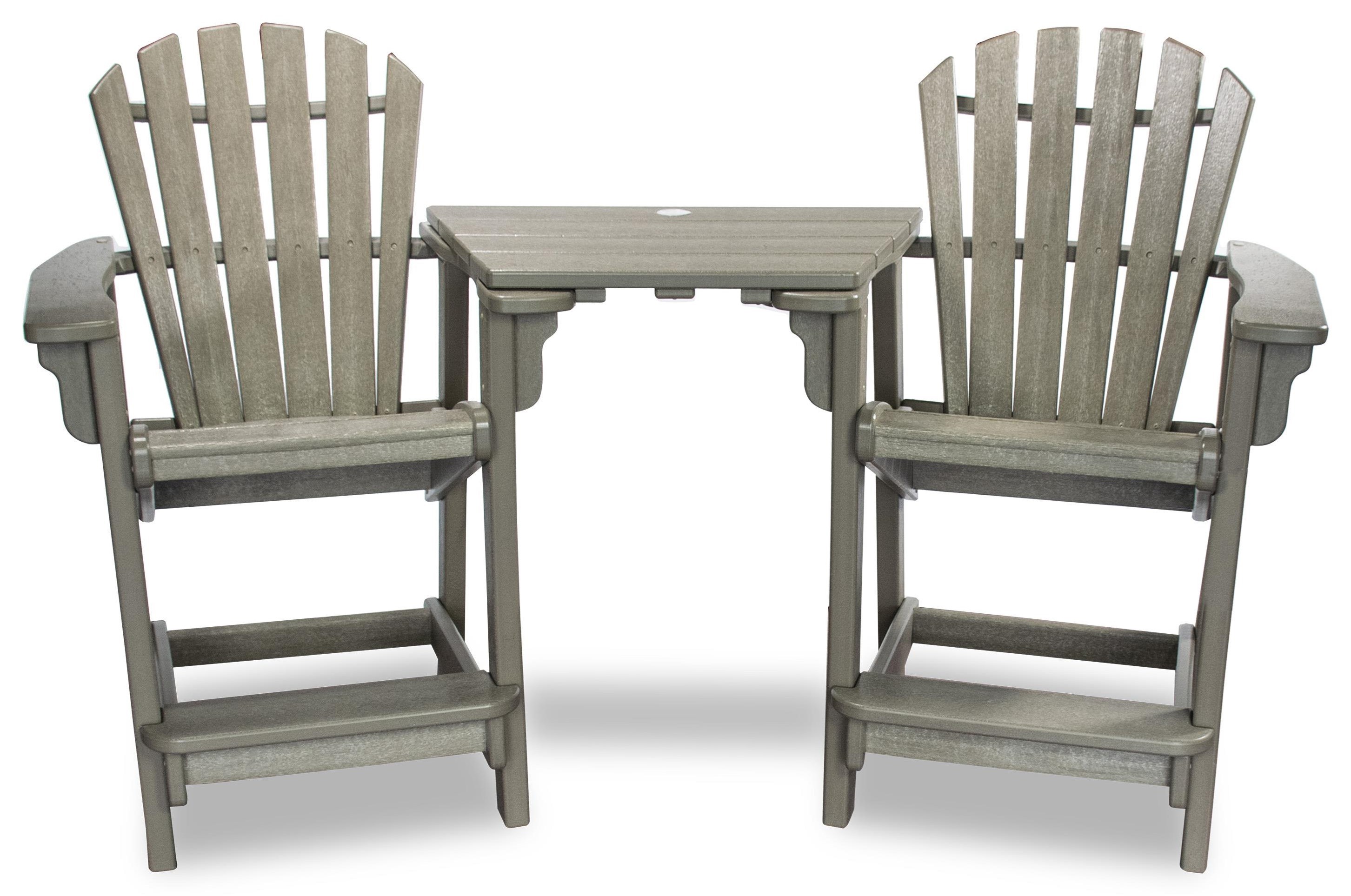 Tete-A-Tete With 2 Chairs