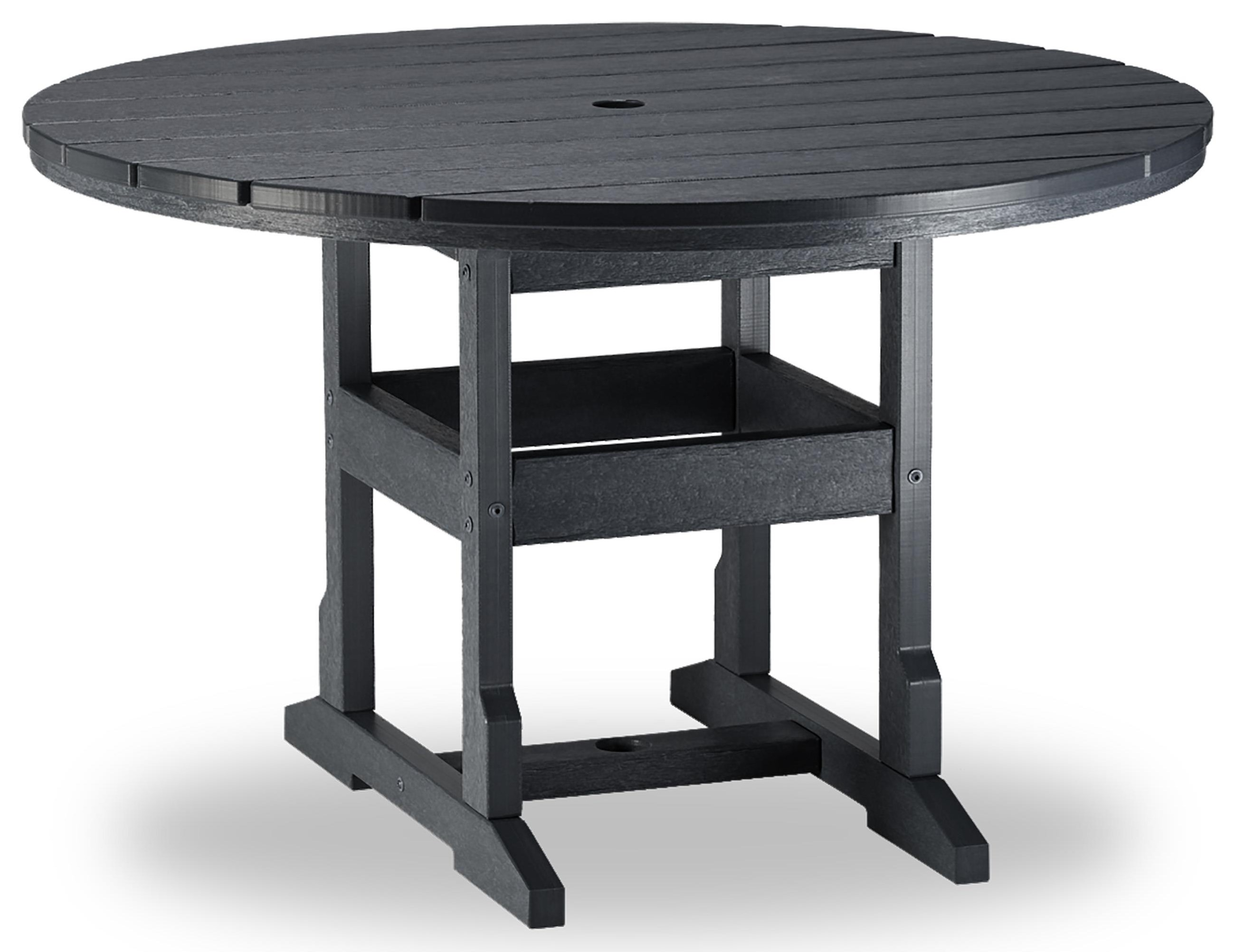 48 inch Round Table with Umbrella Hole