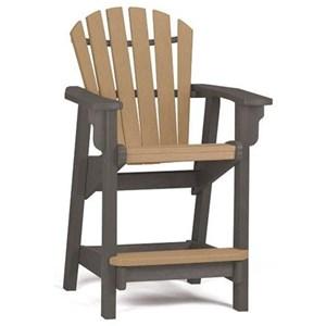 Breezesta Counter Collection Coastal Counter Chair