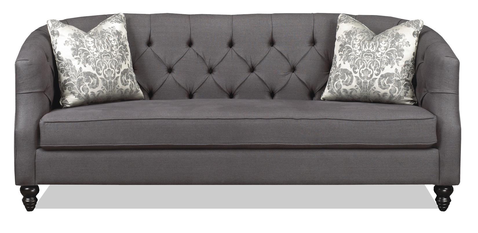 Brentwood Classics 1230 Daisy Tufted Sectional Sofa - Item Number: 1230-38