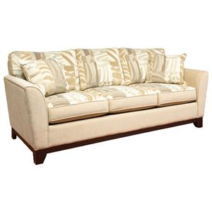 Brentwood Classics 5128 Casual Queen Size Sleeper Couch in Contemporary Sofa Style