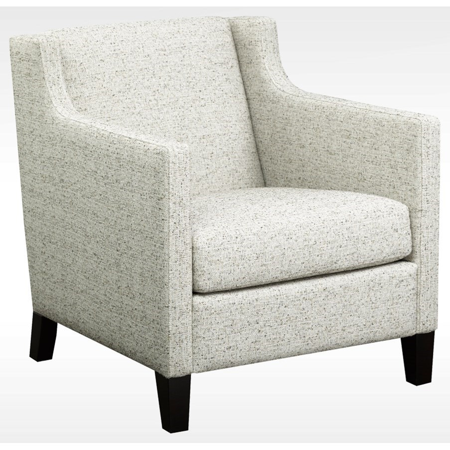 Brentwood Classics Albert Upholstered Chair - Item Number: 247-20-Coconut Spray