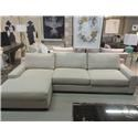 Brentwood Classics Athena 2 Piece Sectional - Item Number: 1403-64+29-Vibes Linen