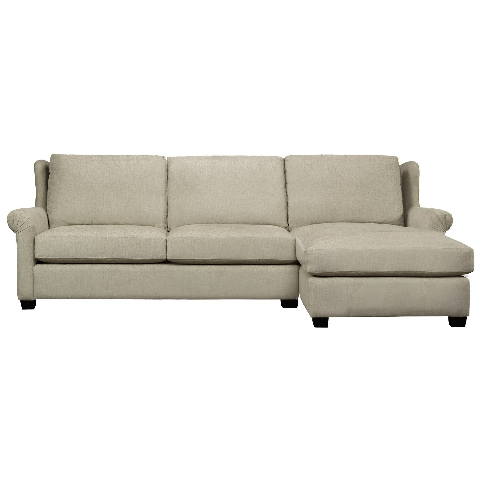 Edward Sofa with Chaise by Brentwood Classics at Stoney Creek Furniture