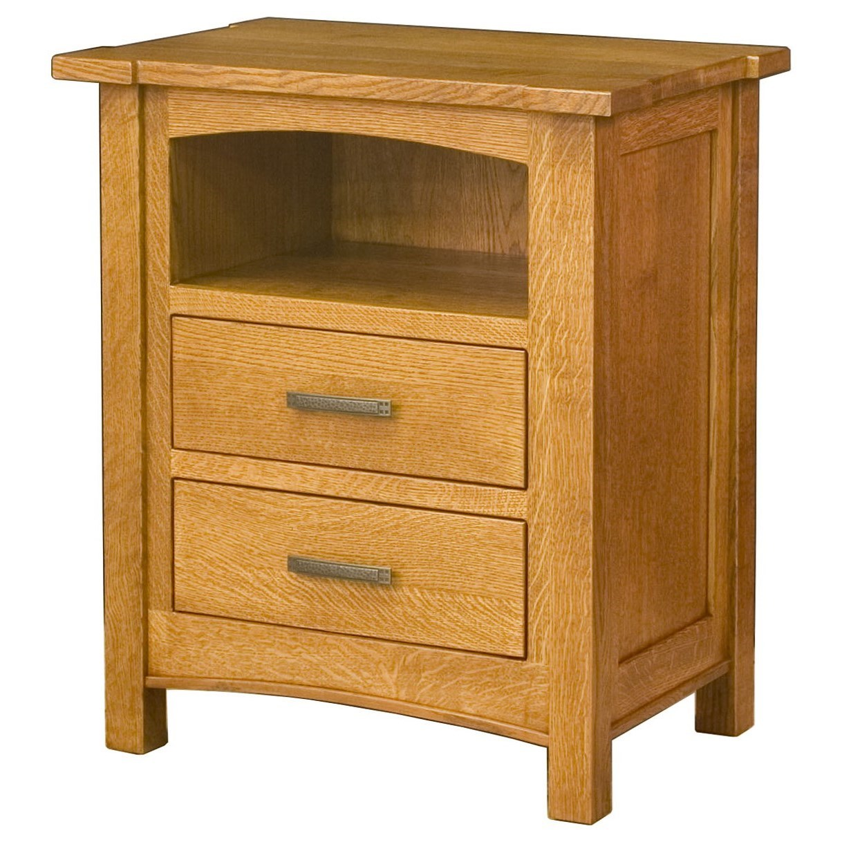 2 Drawer Bedside Chest