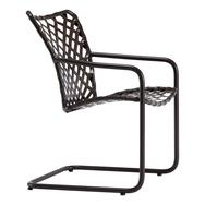 Brown Jordan Tamiami Vinyl Lace Spring Base Chair, Vinyl Strap