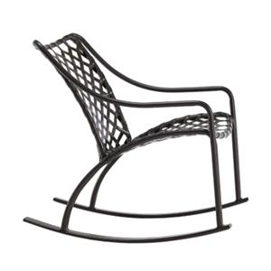 Brown Jordan Tamiami Vinyl Lace Rocking Chair, Vinyl Strap