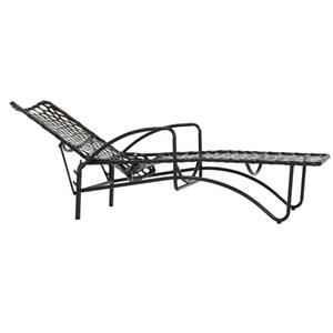 Brown Jordan Tamiami Vinyl Lace Adjustable Chaise, Vinyl Strap