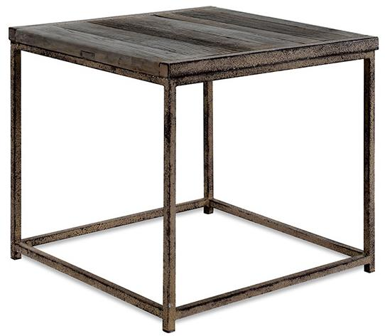 Anton  End Table by Brownstone at Alison Craig Home Furnishings