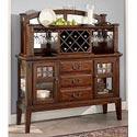 Broyhill Furniture Vantana Three Drawer Server - Item Number: 4985-513,514