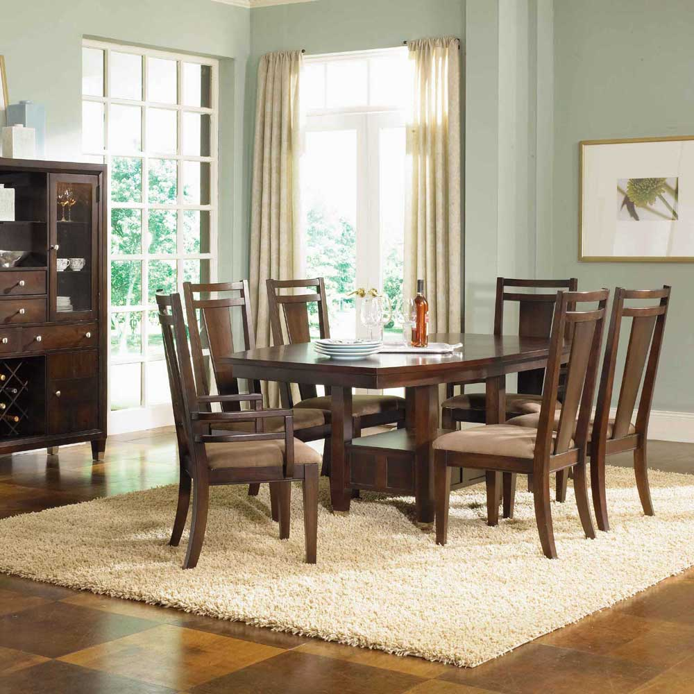 Broyhill Furniture Northern Lights 7 Piece Adjule Height Table With Side Arm Chairs Ahfa Dining Or More Set Dealer Locator
