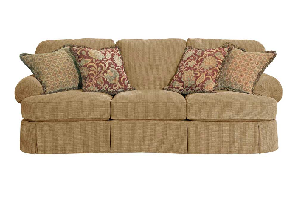 McKinney Skirted Sofa By Broyhill Furniture