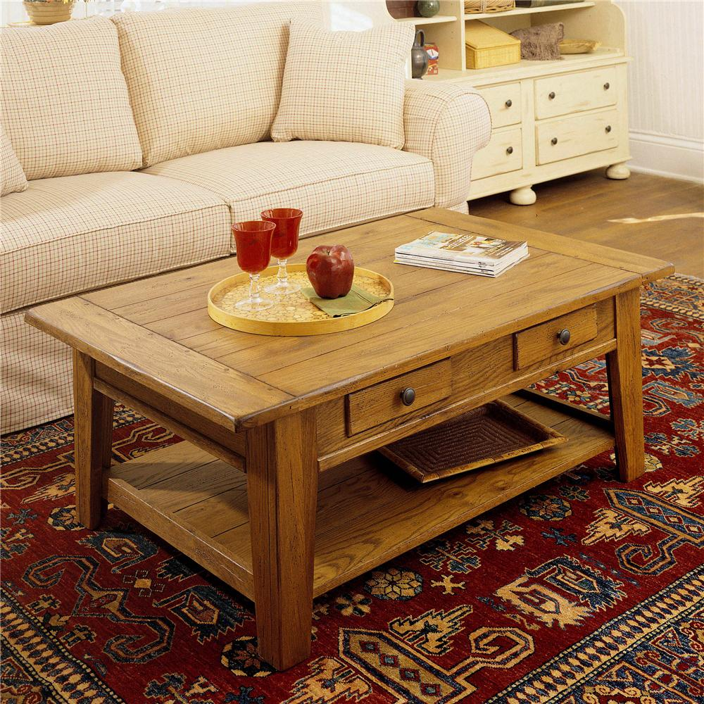 Broyhill Furniture Attic Heirlooms Cocktail Table - Item Number: 3397-01