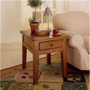 Attractive Broyhill Furniture Attic Heirlooms End Table