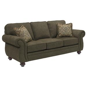 Traditional Queen Goodnight Sleeper Sofa