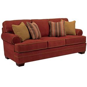 Transitional Stationary Sofa