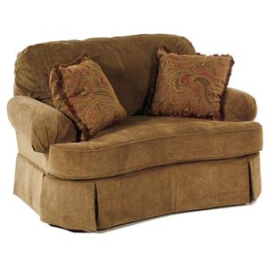 Broyhill Furniture Vera Chair and 1/2