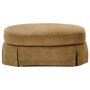 Broyhill Furniture Vera Oval Ottoman