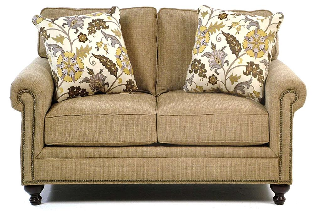 Broyhill Furniture Harrison Traditional Loveseat - Item Number: 6751-1