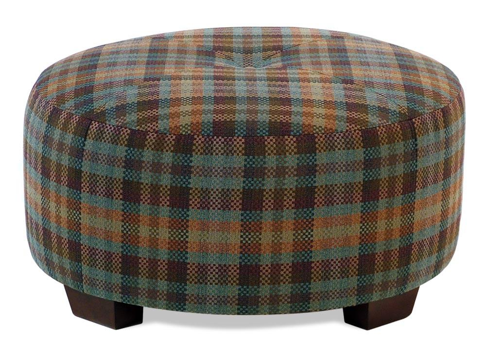 Broyhill Furniture Ottomans Round Cocktail Ottoman - Item Number: 9868-5