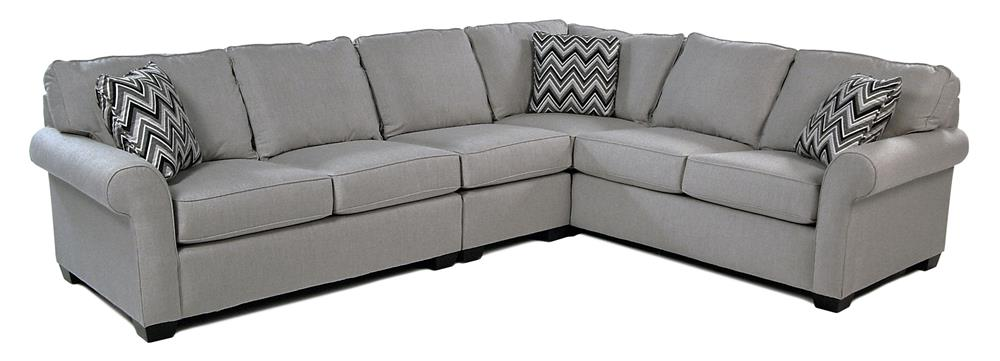 Broyhill Furniture Penobscot 3-PC Sectional w/ Sunbrella Fabric - Item Number: S6627-3+2+0