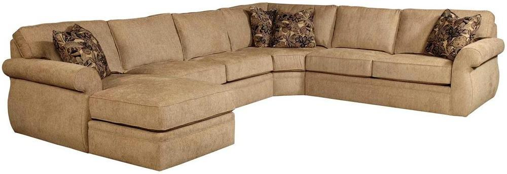 Broyhill Furniture Veronica Chaise Sectional - Item Number: 6170-2+9+6171-1+4