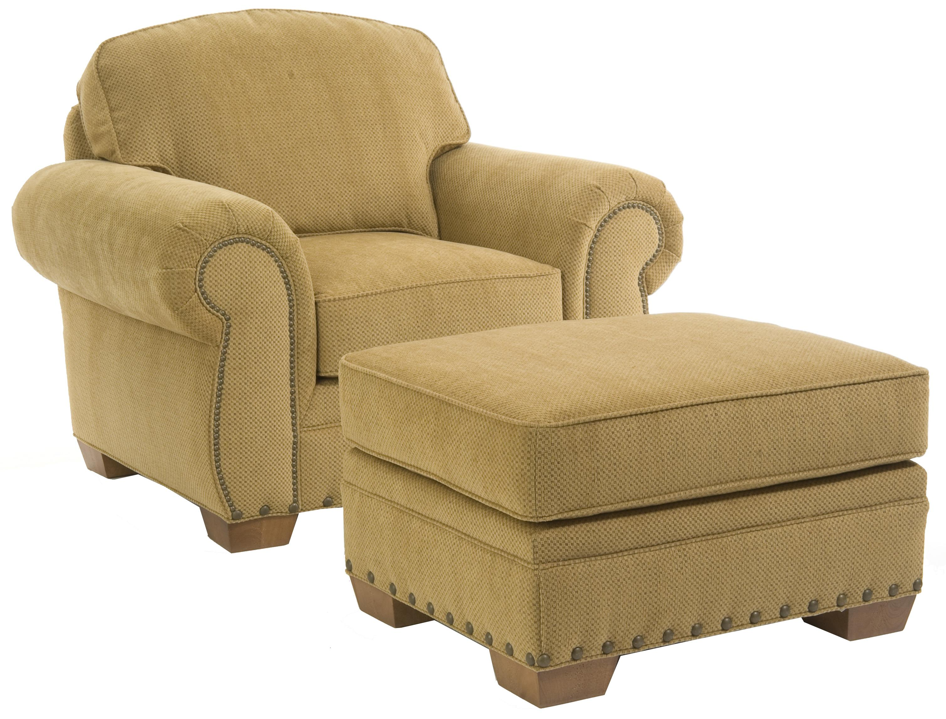 Broyhill Furniture Cambridge 5054 0 Casual Style Chair With Nail Head Trim Becker Furniture