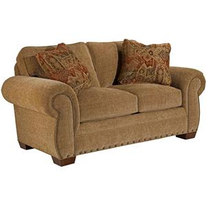 Broyhill Furniture Cambridge Casual Style Loveseat