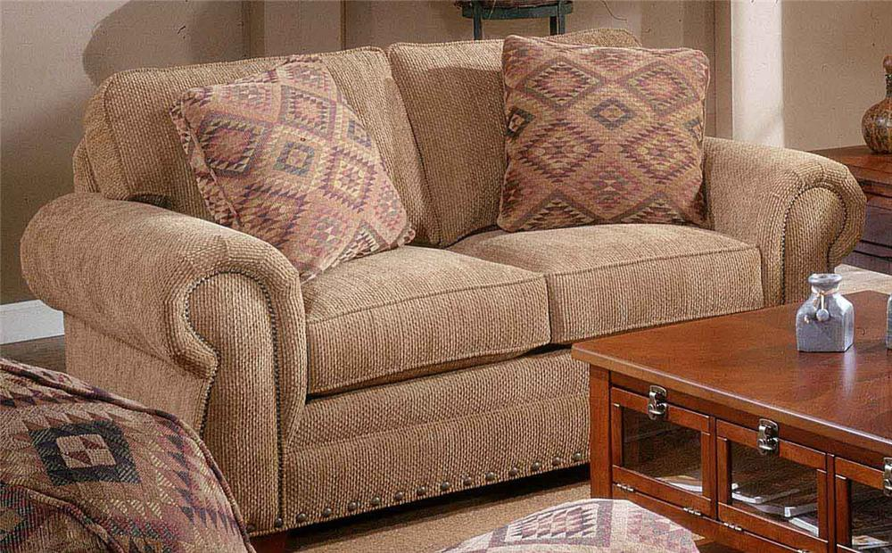 Ordinaire Broyhill Furniture Cambridge Casual Style Loveseat   Item Number: 5054 1