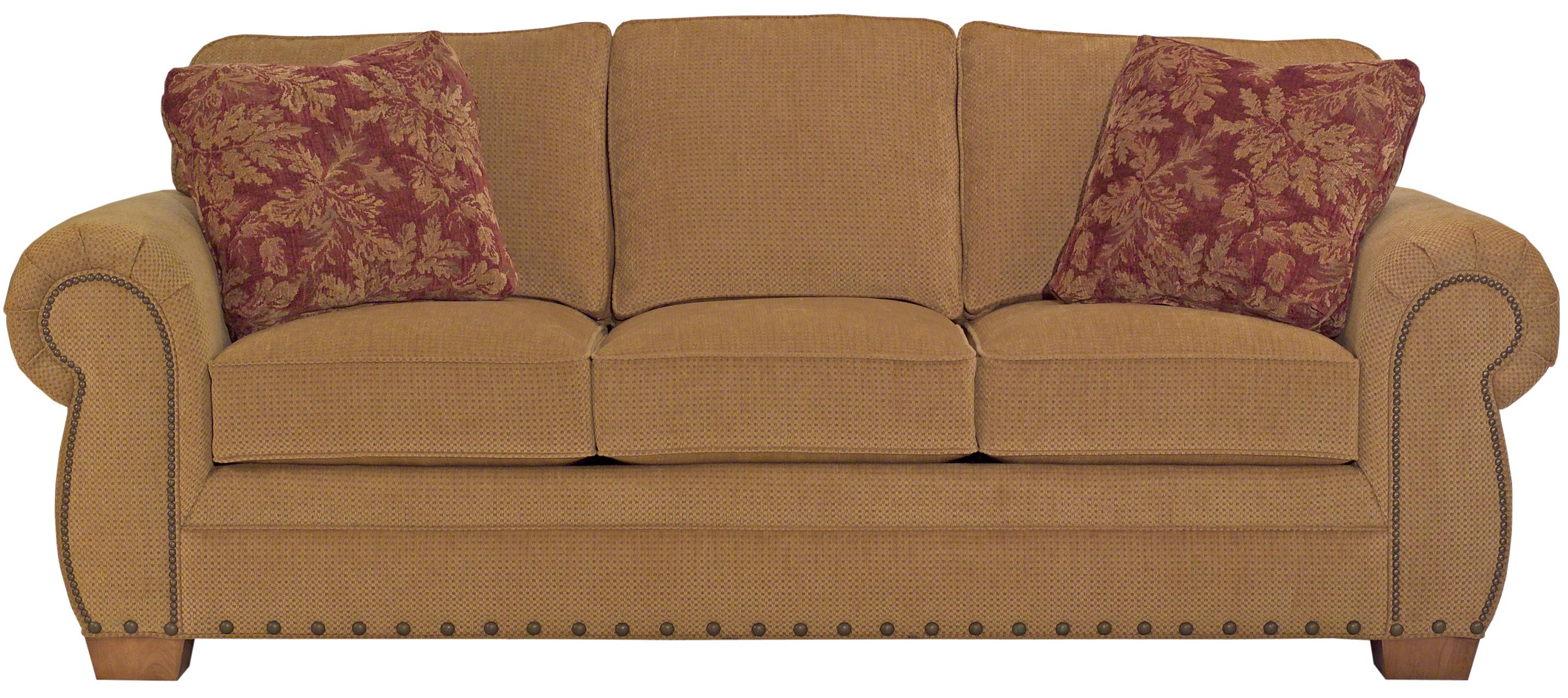 Broyhill Furniture Cambridge Casual Style Sofa - Item Number: 5054-3