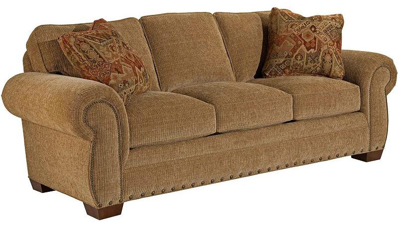 Broyhill Furniture Cambridge Queen Air Dream Sleeper Sofa AHFA