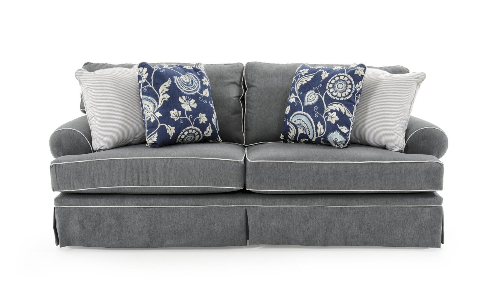 Broyhill Furniture Emily Casual Style Sofa - Item Number: 6262-3 4022-44