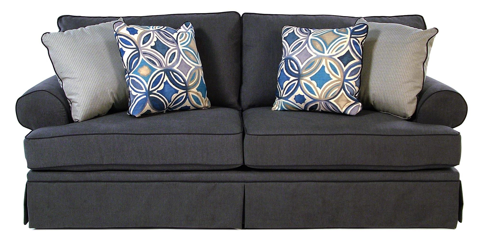 Broyhill Furniture Emily Casual Style Sofa   Item Number: 6262 3