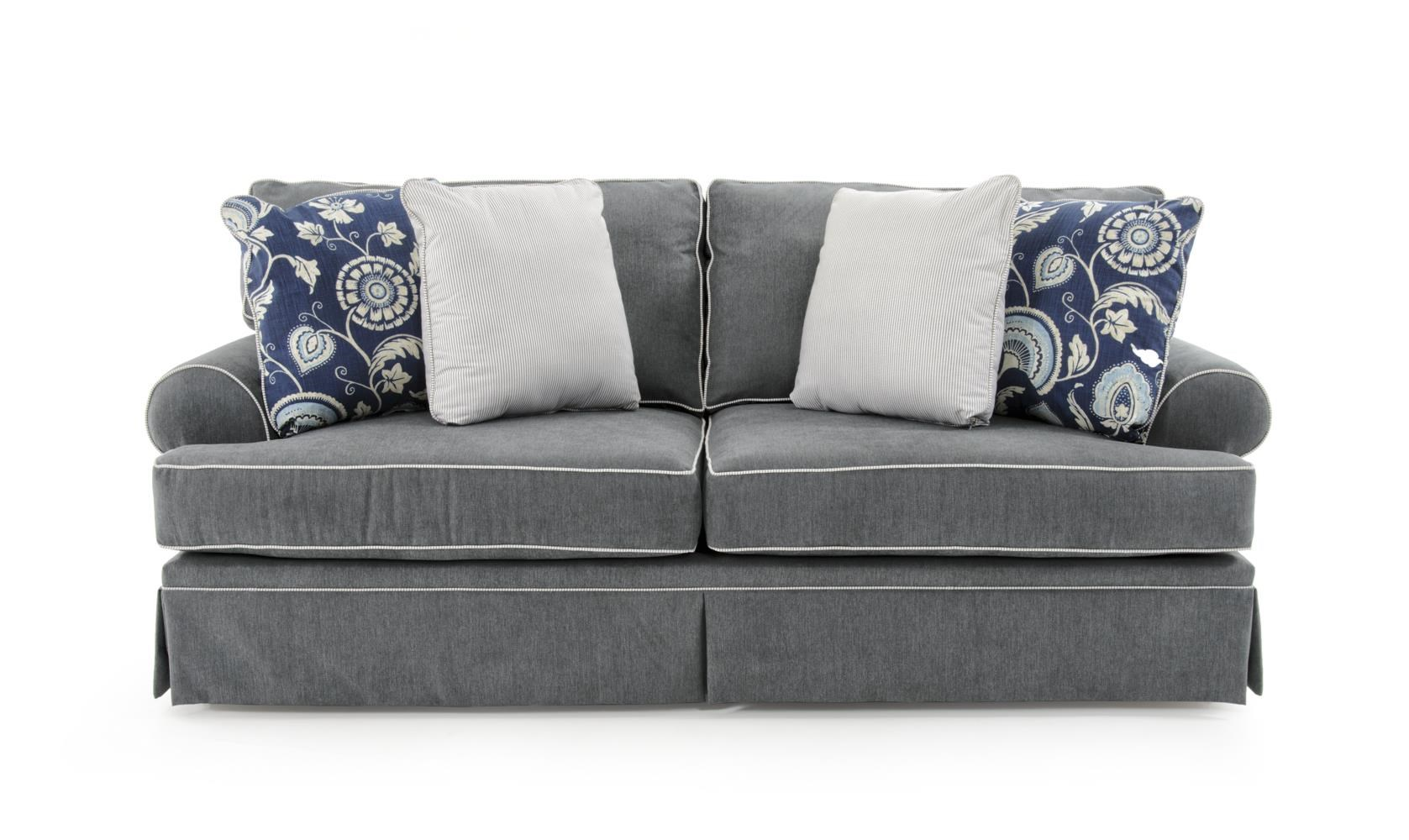 Broyhill Furniture Emily Queen Goodnight Sleeper Sofa Baers - Broyhill emily sofa