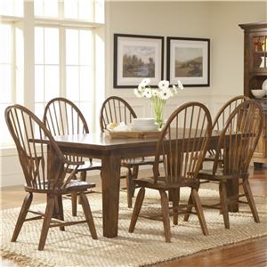 Broyhill Furniture Attic Heirlooms 7Pc Dining Room