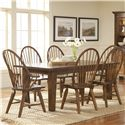 Broyhill Furniture Attic Heirlooms 7Pc Dining Room - Item Number: 5399-42-85x6