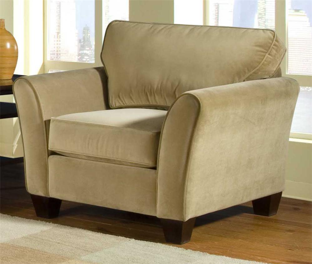 Broyhill Furniture Maddie 6517 0 Contemporary Style Chair With Flared Arms John V Schultz