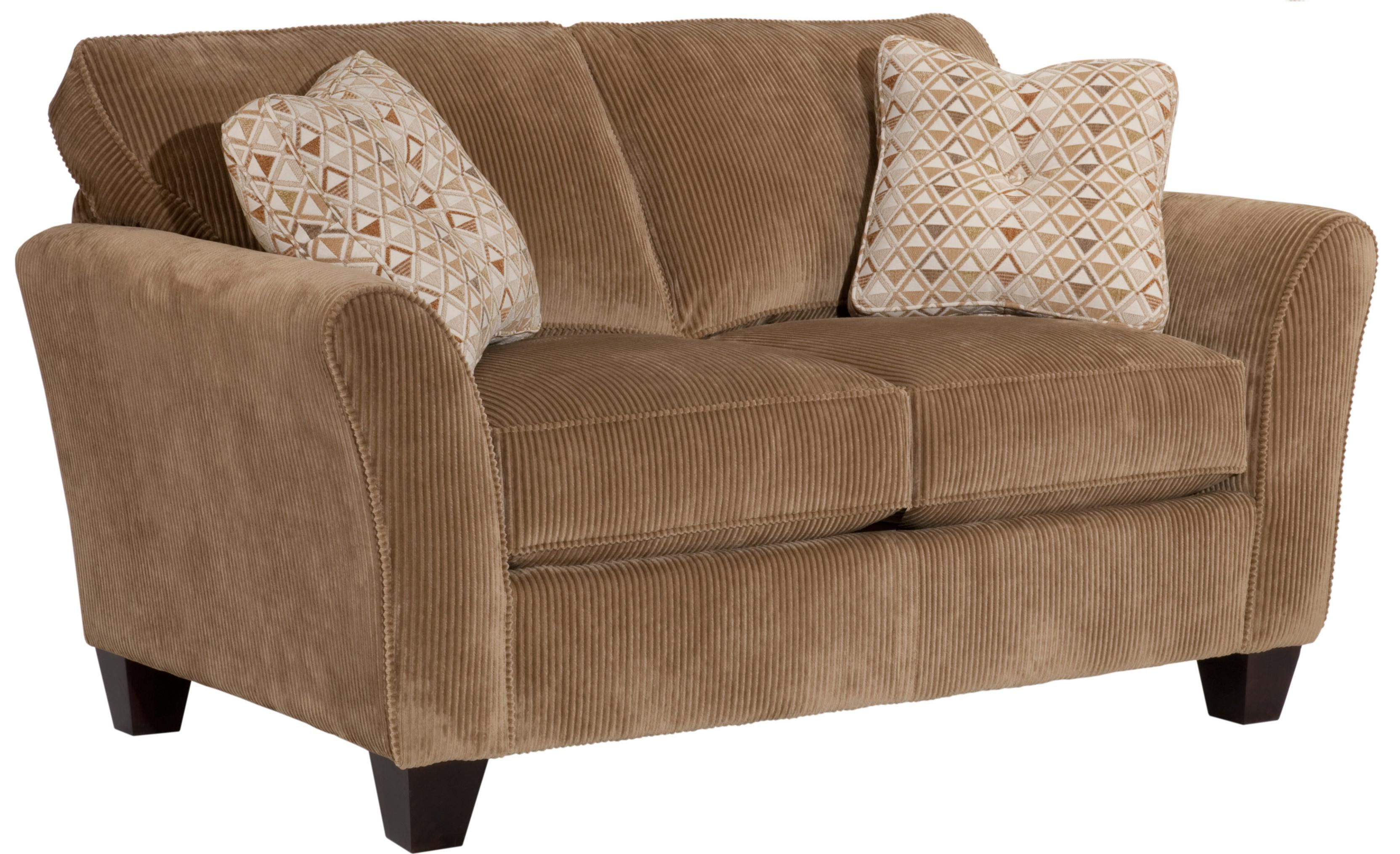 Broyhill Furniture Maddie Contemporary Style Loveseat - Item Number: 6517-1-7973-86