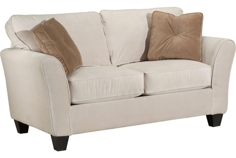 Broyhill Furniture Maddie Contemporary Style Loveseat - Item Number: 6517-1-8172-93B