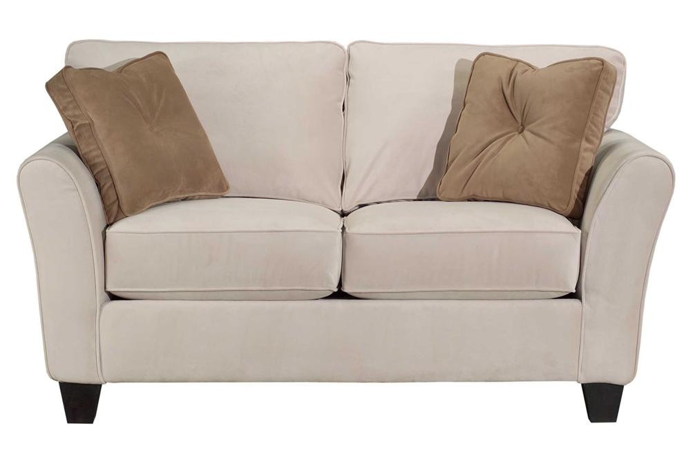 Broyhill Furniture Maddie Contemporary Style Loveseat - Item Number: 6517-1