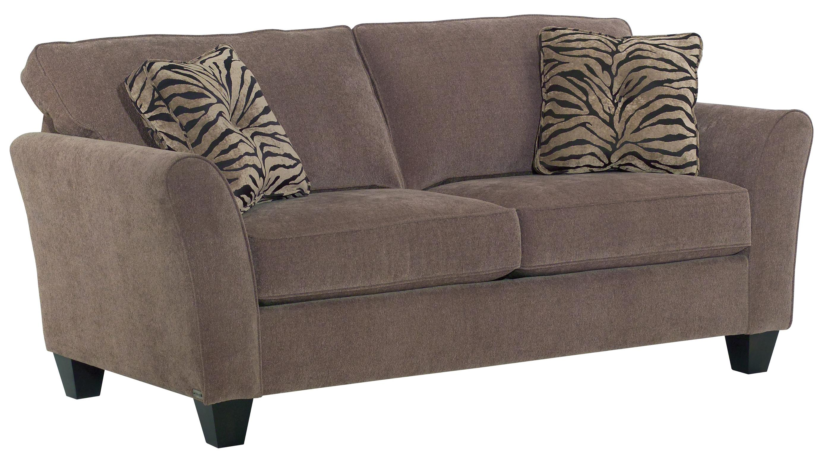 Broyhill Furniture Maddie Two Seat Apartment Sofa With