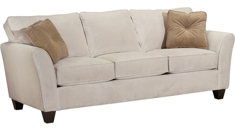 Broyhill Furniture Maddie Sofa not Priced in fabric shown - Item Number: 6517-3-8172-93B