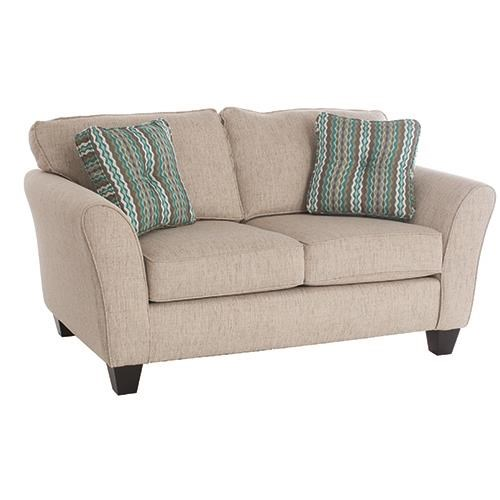 Broyhill Furniture Maddie Contemporary Style Loveseat - Item Number: 65171Q1-4190-80