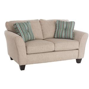 broyhill furniture maddie style loveseat