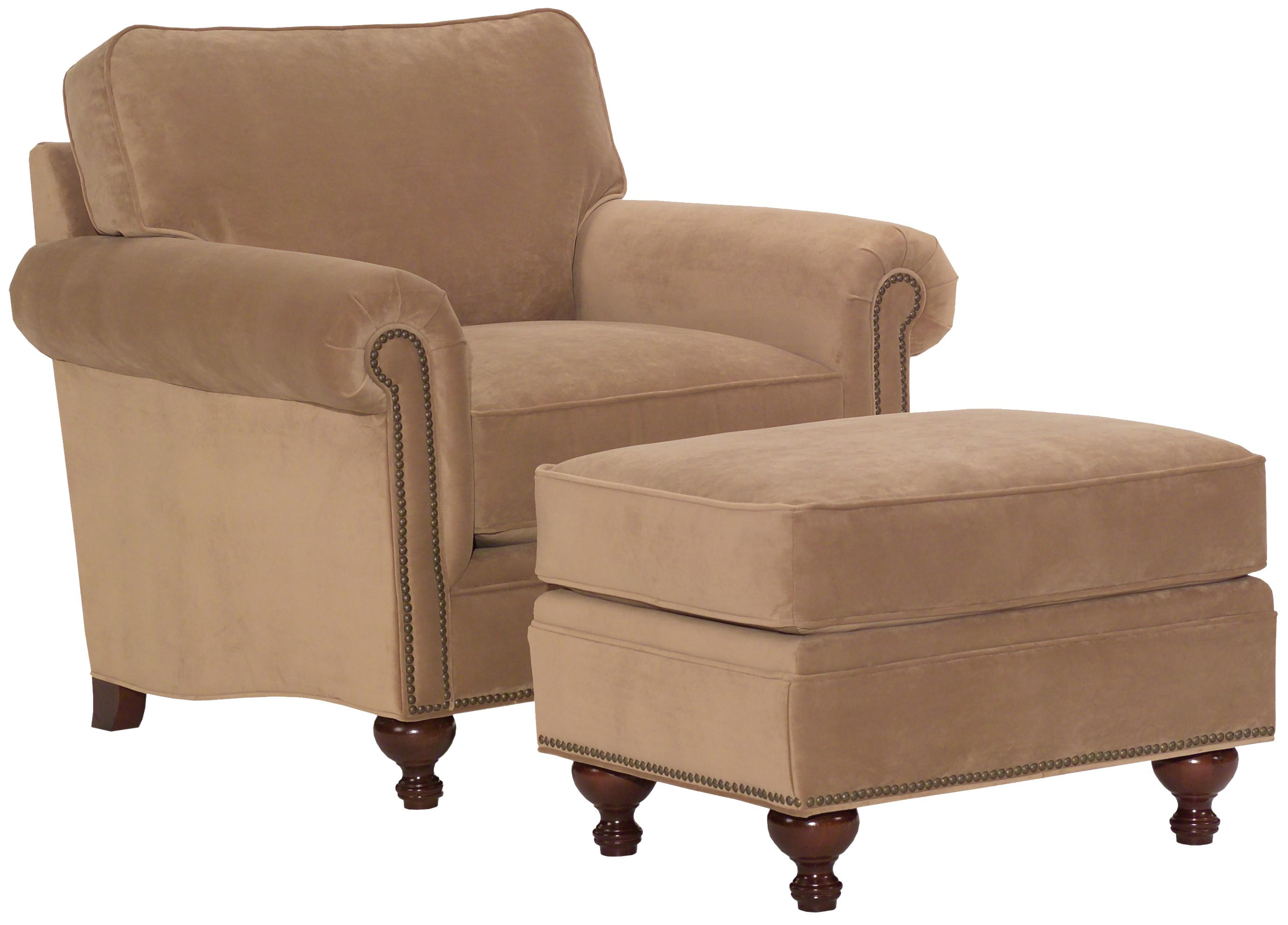 Broyhill Furniture Harrison Chair And Ottoman