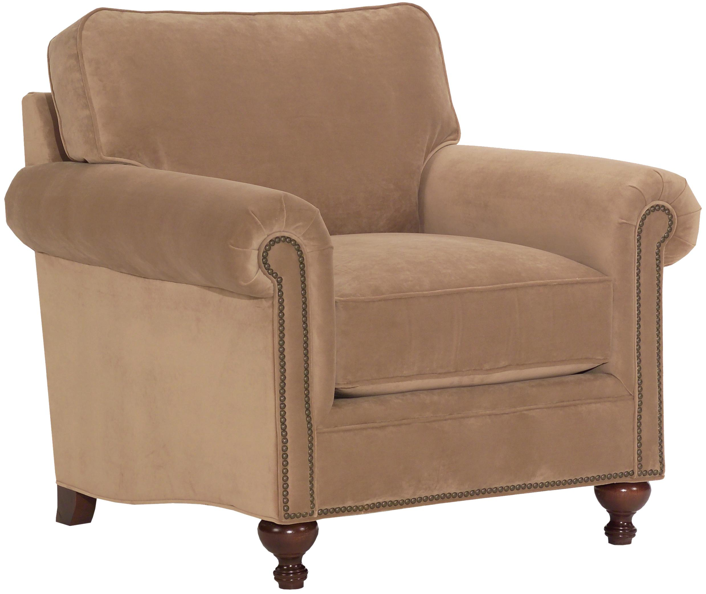 Broyhill Armchair: Broyhill Furniture Harrison Traditional Style Chair With