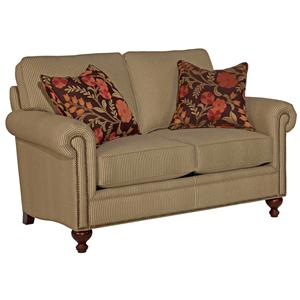 Broyhill Furniture Harrison Traditional Loveseat