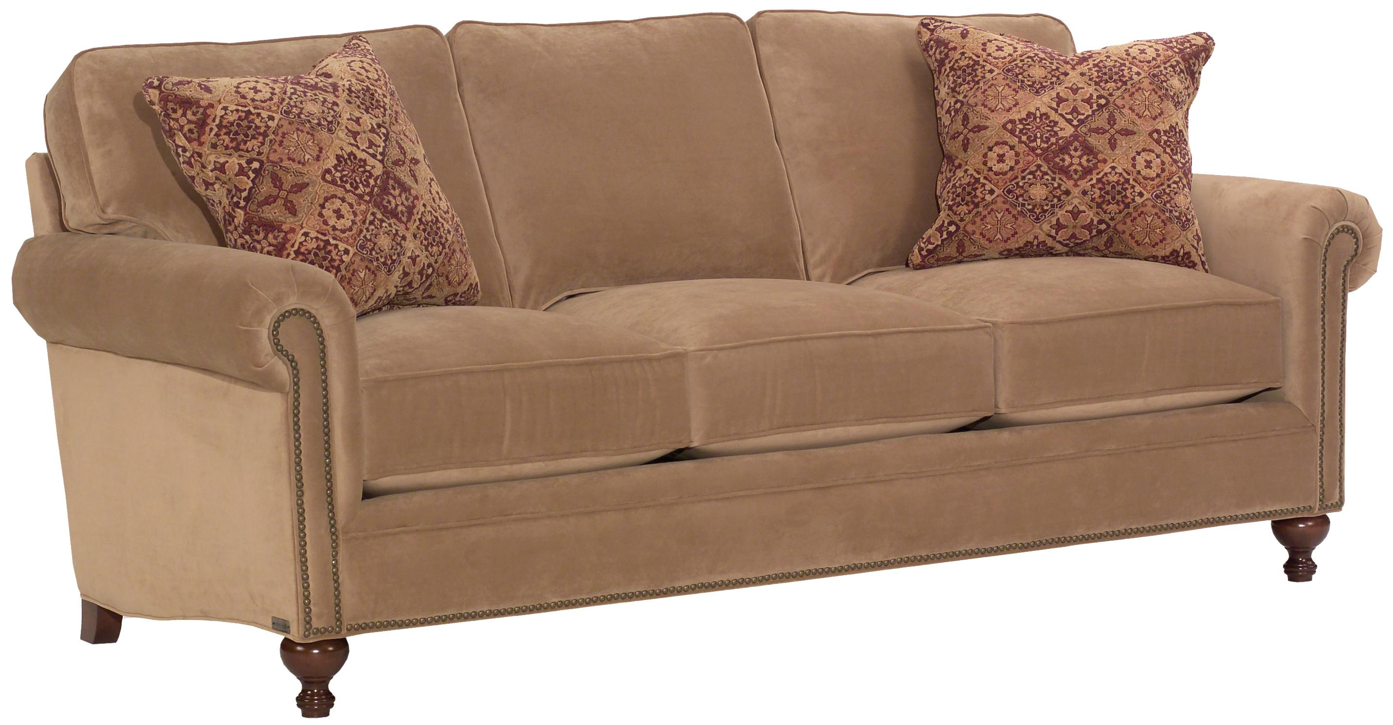 Broyhill Furniture Harrison Traditional Style Sofa With