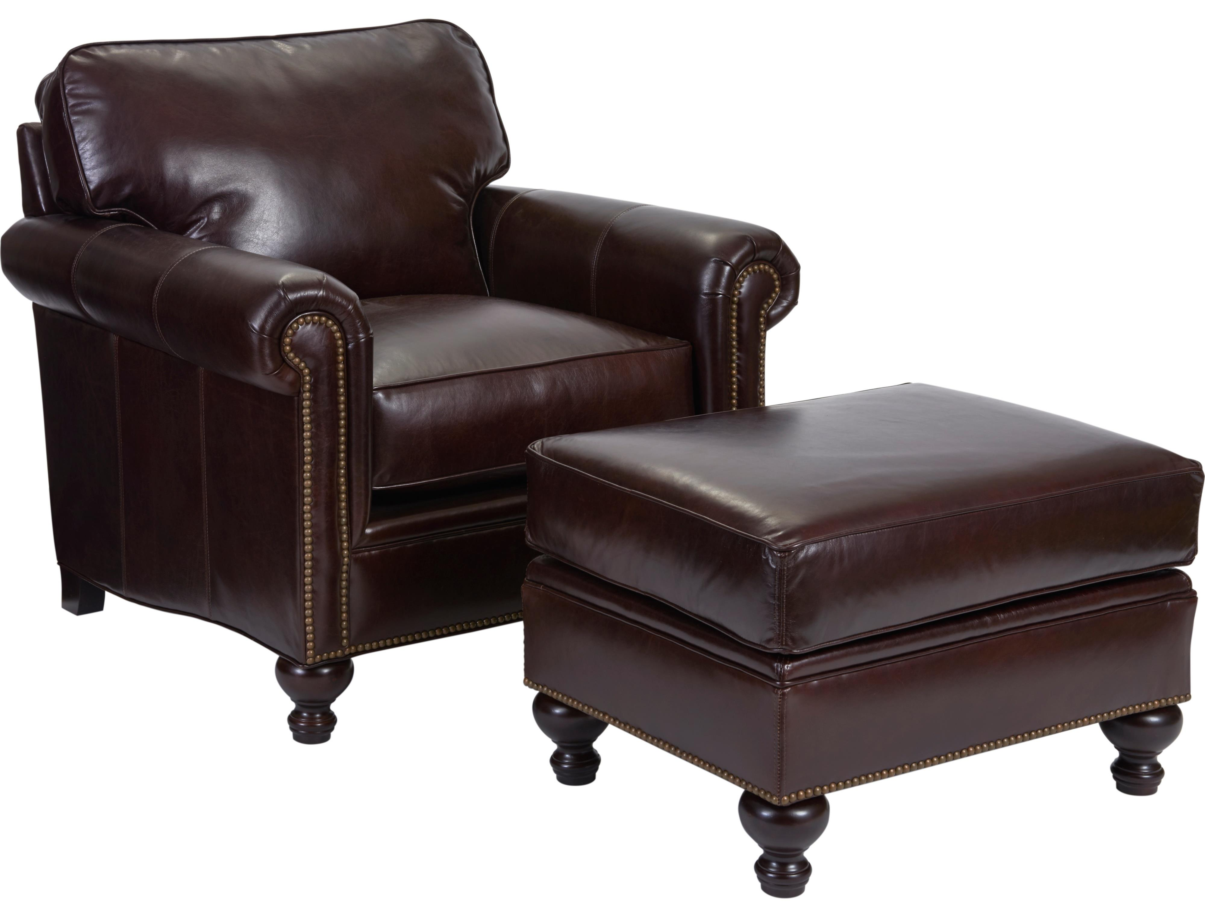 Broyhill Furniture Harrison Chair and Ottoman - Item Number: L6751-0+5-0015-89